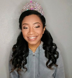 Such a sweet gal..never worn make up before_I didn't want to overwhelm her with all the glam.. But that tiara...jpg