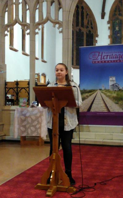 Nicole Linderschmidt - 2017 Heritage Fairs winner