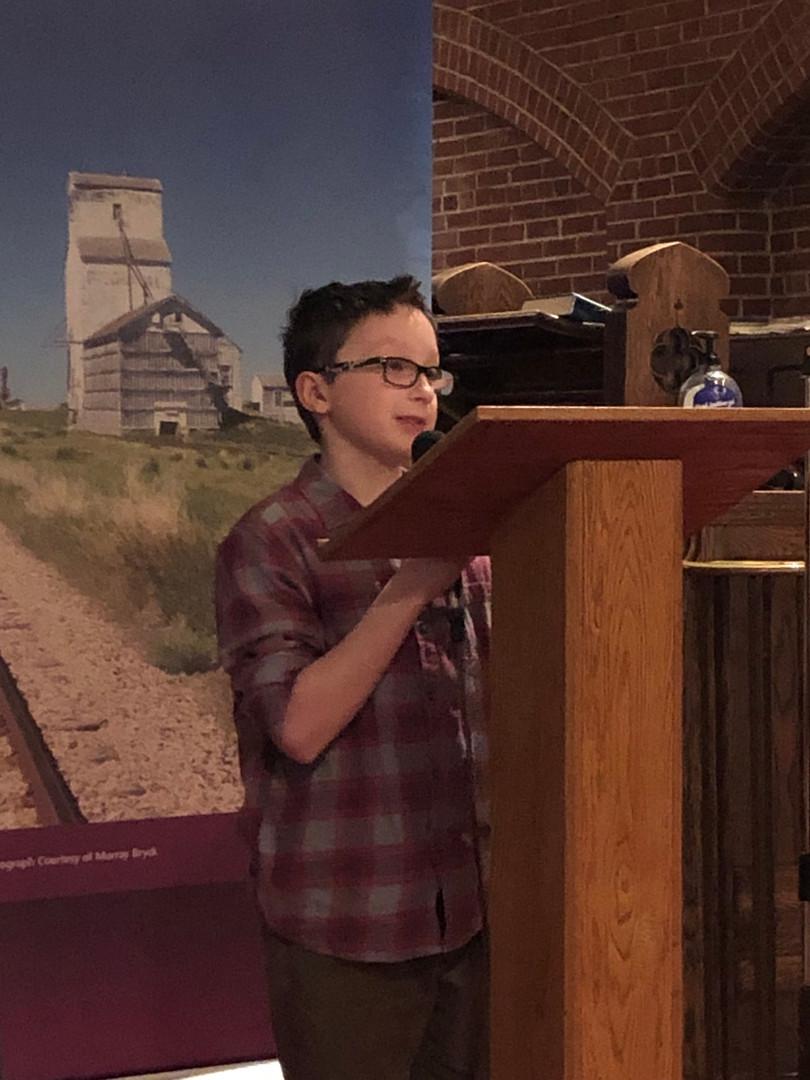 Heritage Fairs award winner from Moose Jaw