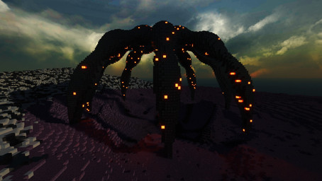 "Alien ""Crab"" structure"