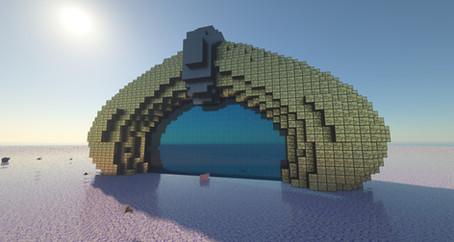 Big alien/sci-fi gate