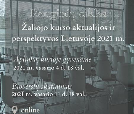 Mokslo integravimas į Žaliojo kurso įgyvendinimą Lietuvoje