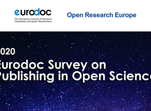 Eurodoc Survey on Publishing in Open Science for Early Career Researchers