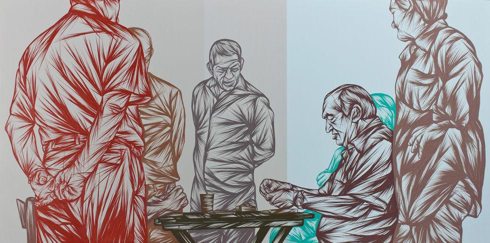 Men Playing Cards Part 3