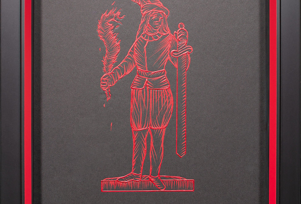 Otto di Spade / Eight of Swords