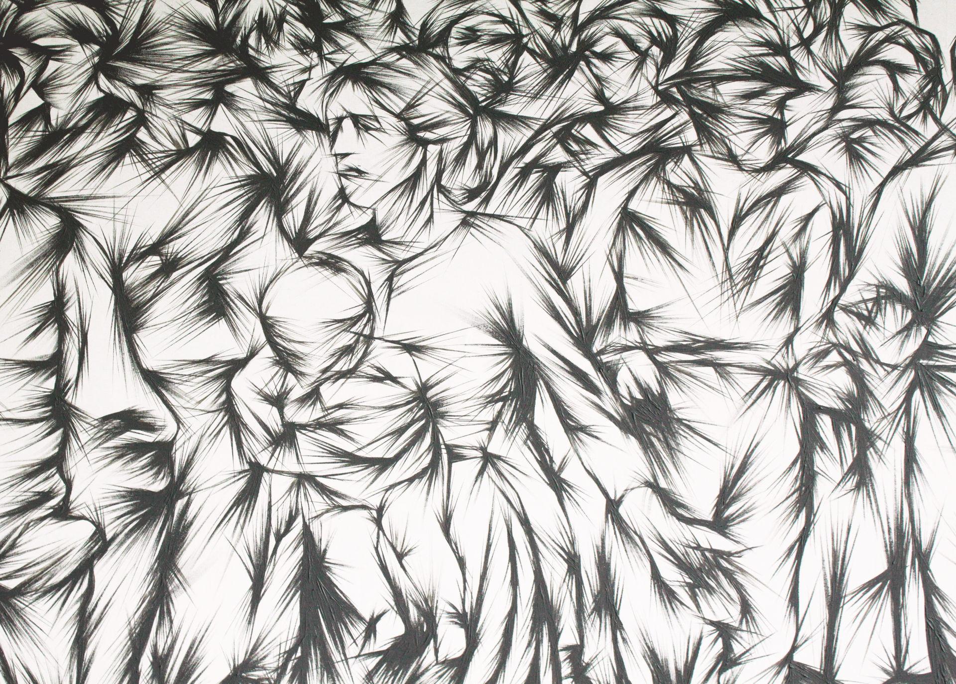 Tribute to Il Quarto Stato - detail