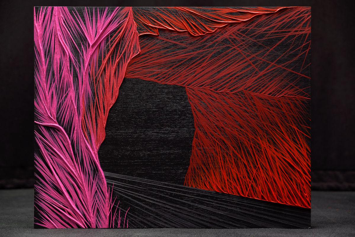 """""""Wanderlust #1"""" 16"""" x 20"""" / 40.5cm x 50.5cm Acrylic on wood panel  2021"""