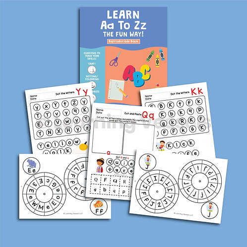 Literacy Activity Book Singapore
