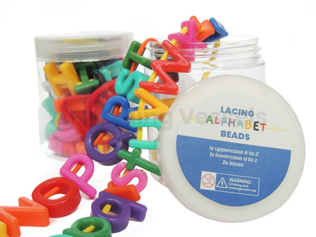 3D Letters for learning the Aa to Zz