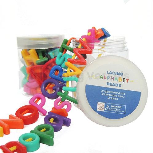 Lacing Alphabet Beads