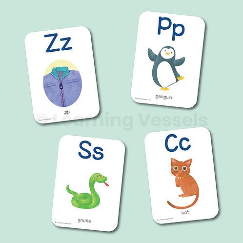Alphabet Flashcard Singapore