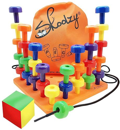 skoolzy peg board set singapore