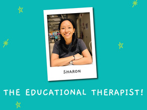 Meet our Staff & Educational Therapist, Sharon!