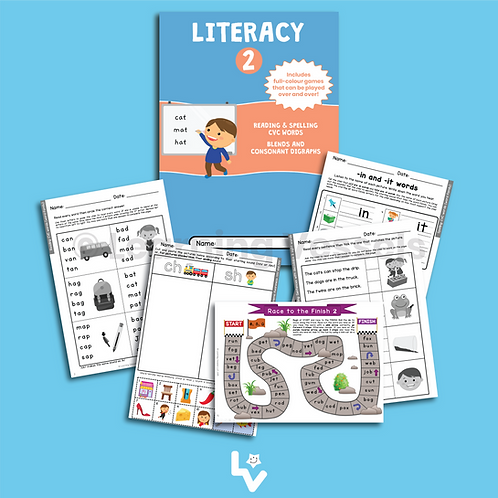 Literacy Book 2 Singapore