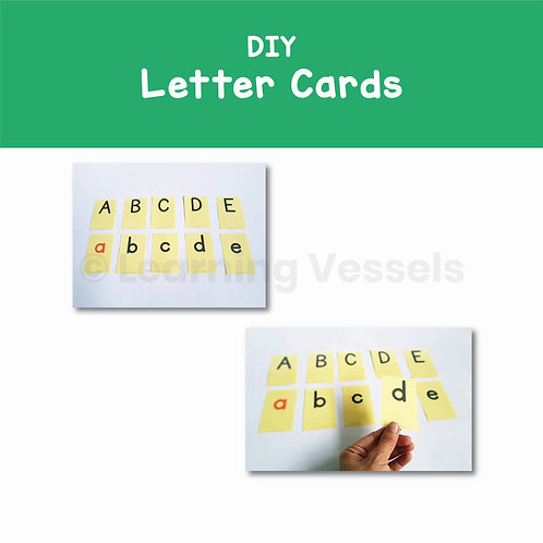 DIY Letter Cards Singapore
