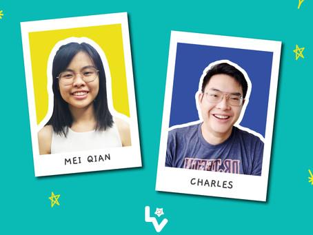 Meet our ELP Volunteers - Mei Qian & Charles!