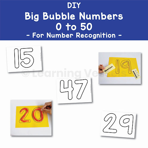 Big Bubble Numbers PDF Singapore