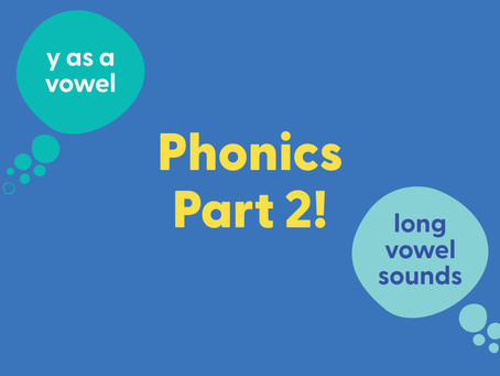 Guide to teaching phonics - Part 2