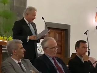 """Intervenção do Barão de Nossa Senhora da Oliveira no Lançamento da Obra """"As Famílias do Vale das Fur"""