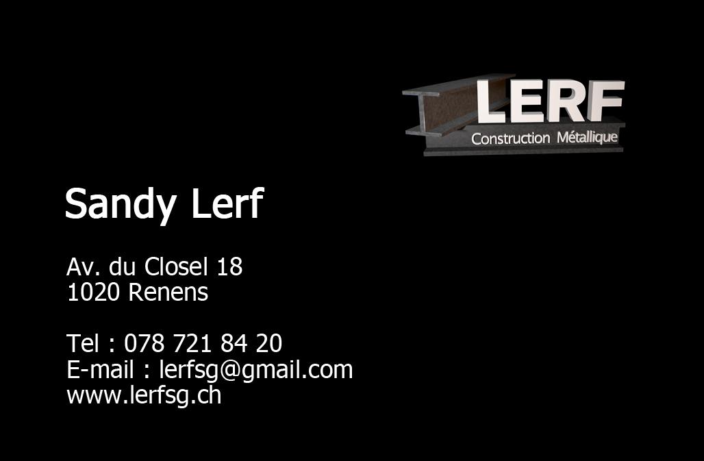 Sandy Lerf Construction Métallique