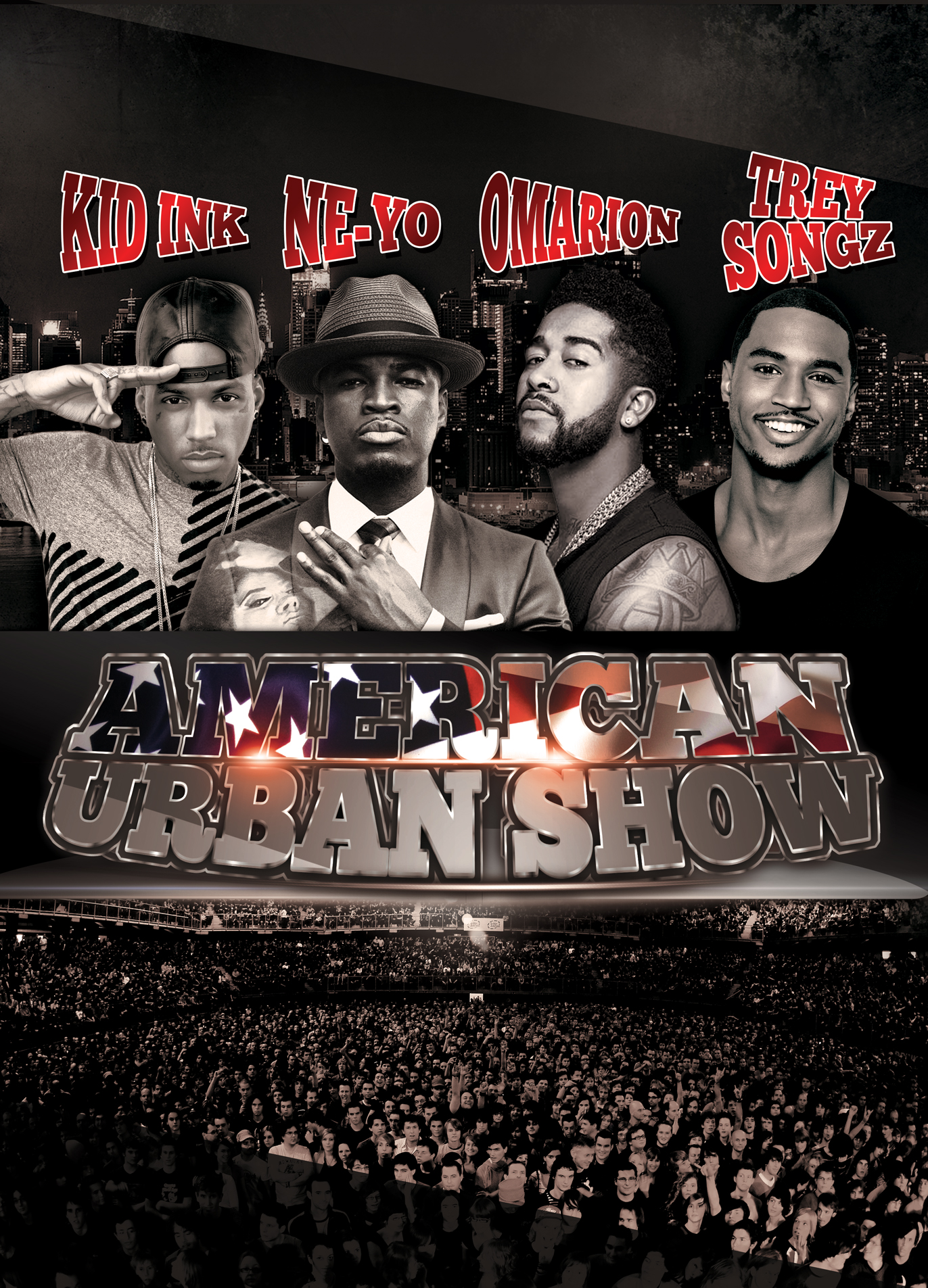NE-YO OMARION TREY SONGZ KID INK