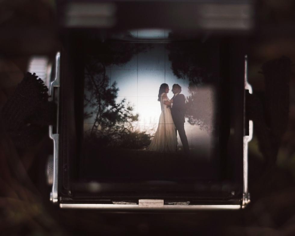 old school vintage wedding video