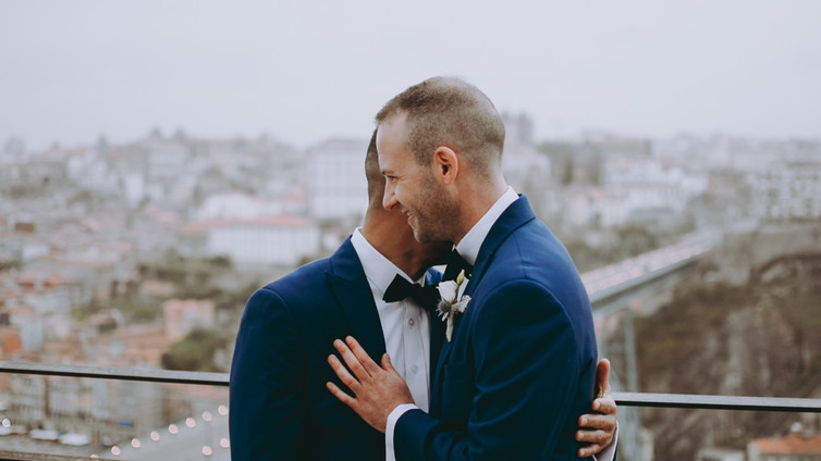 gay wedding in Porto