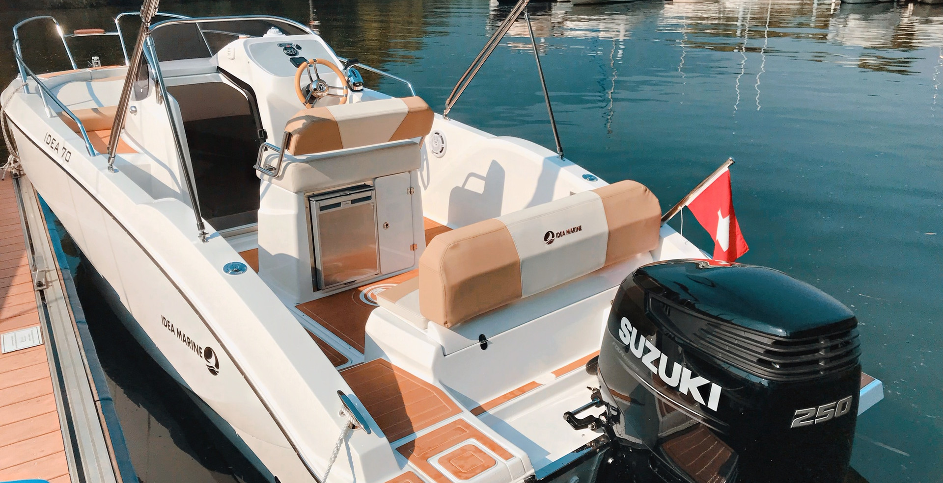Idea 70 Bootsvermietung Lago Maggiore