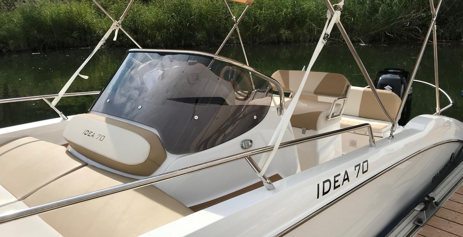 Idea 70 - Bootsmiete Lago Maggiore