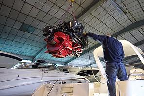 Motorservice, Reparaturen, Unterhalt, Verkauf, Volvo Penta, Mercruiser, PCM, Ilmor, Honda Yamaha, Suzuki, Mercury
