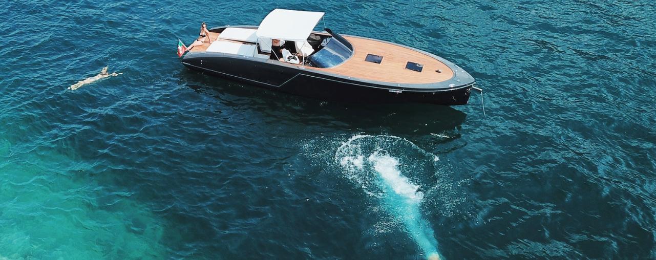 Yacht Frauscher a noleggio