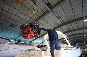 Servizio, riparazione, vendita motori Vovo Penta, Mercruiser, Yanmar, PCM, Ilmor, Honda, Yamaha, Suzuki, Mercury