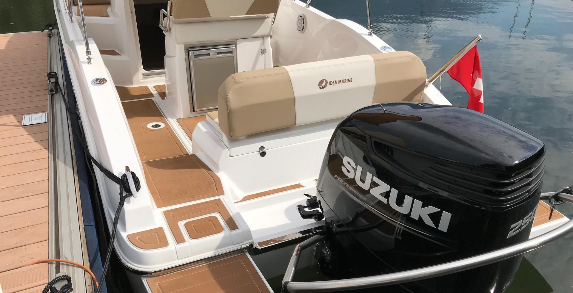 Idea 70 - Mietboot am Lago Maggiore