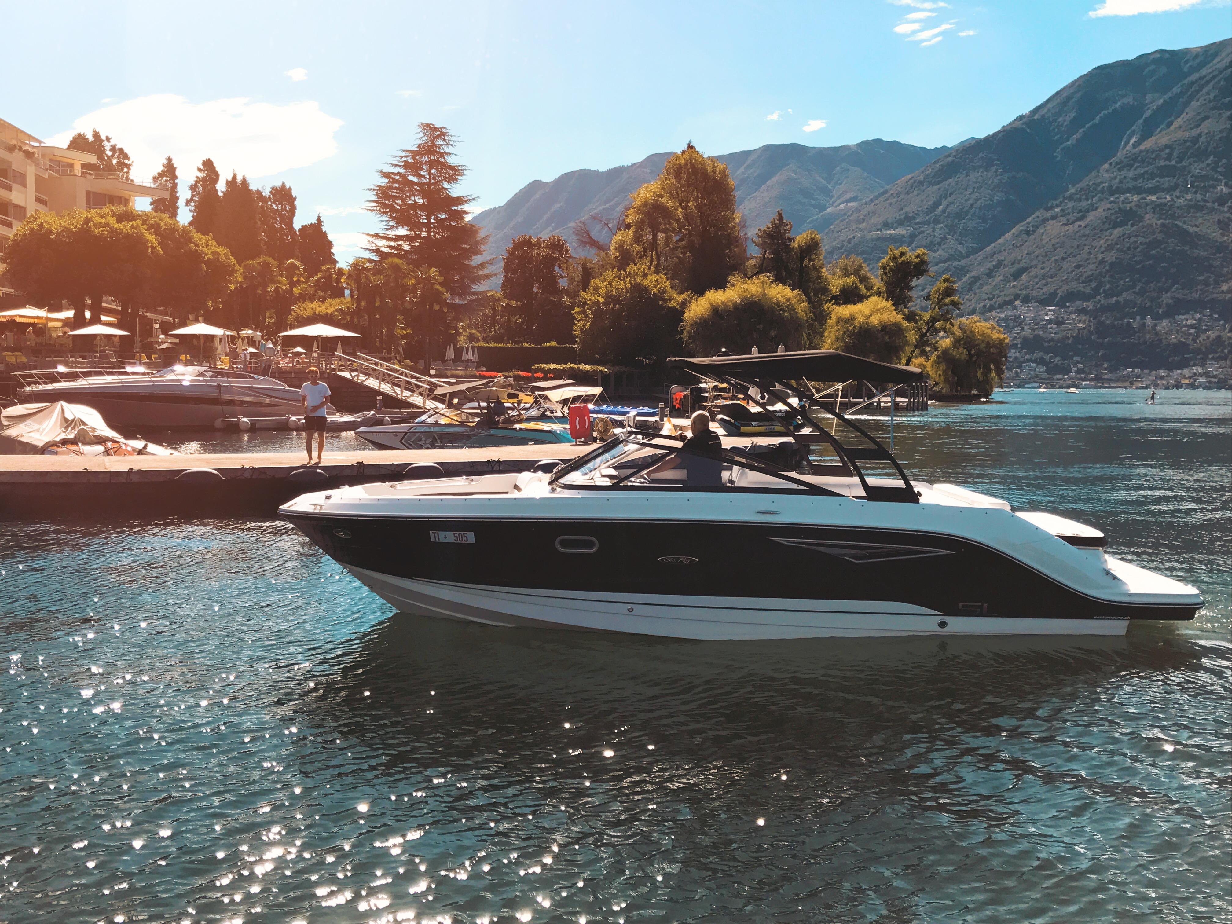 Sea Ray Bootsvermietung Lago Maggiore
