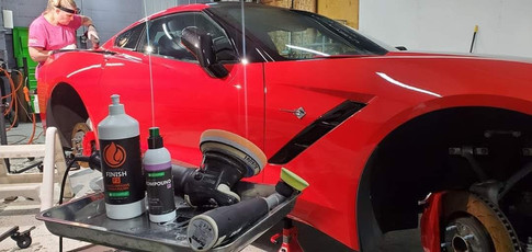 In the Zone! Paint correction!