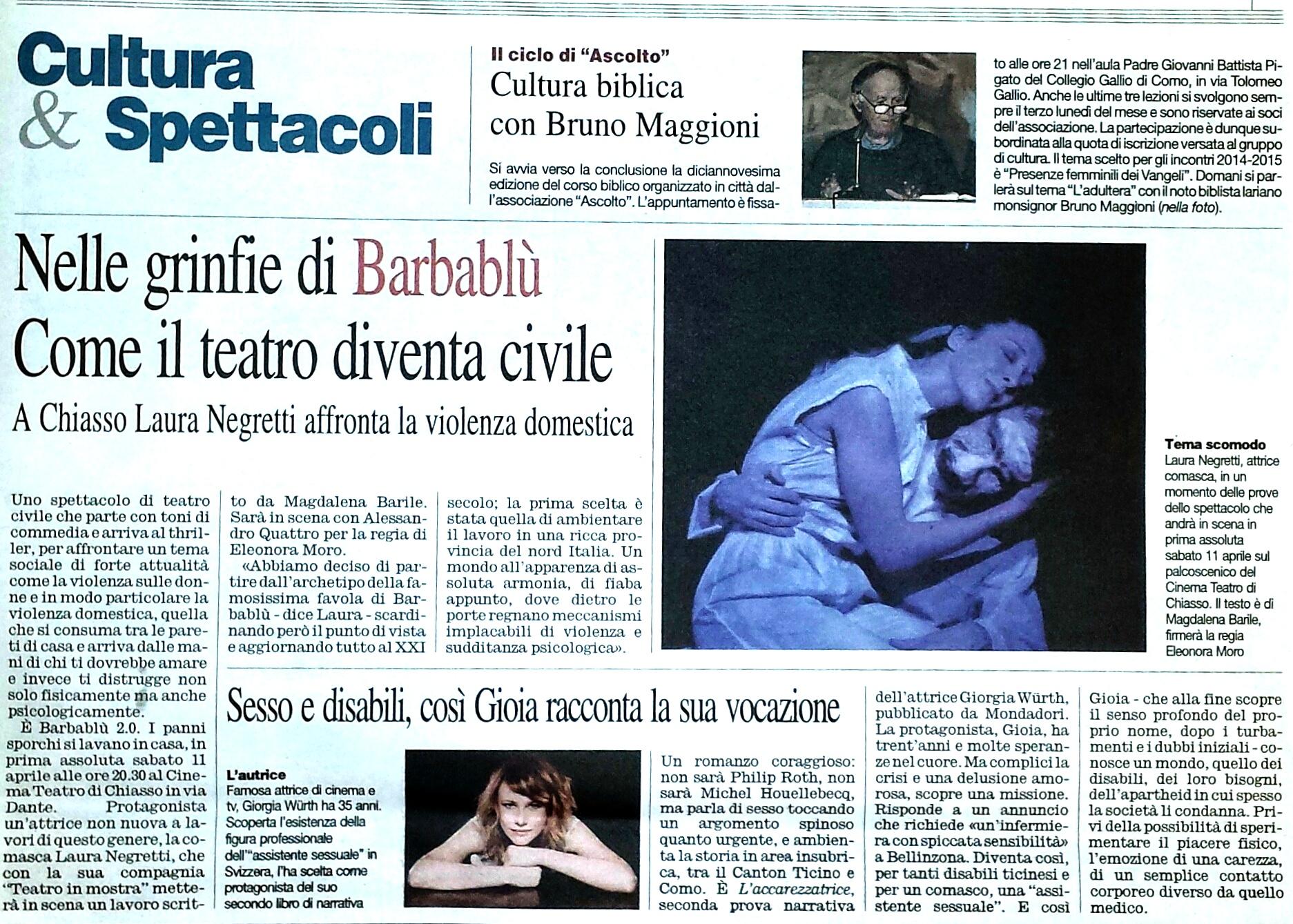 Corriere di Como 15-03-15