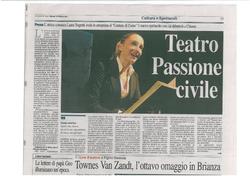 Corriere di Como 18 Ottobre 2011