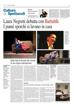 RECENSIONE ANTEPRIMA Corriere di Como 10 Aprile 2015