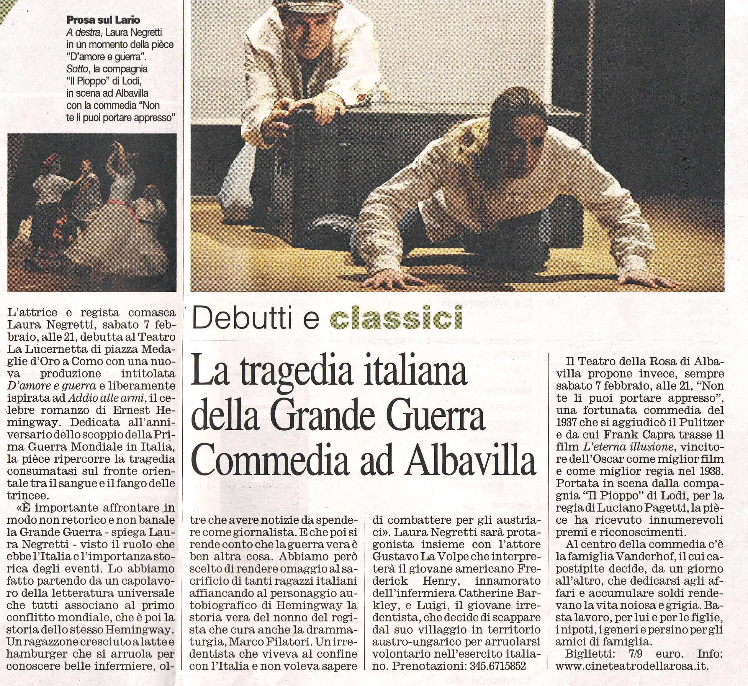 Corriere di Como 6-02-15