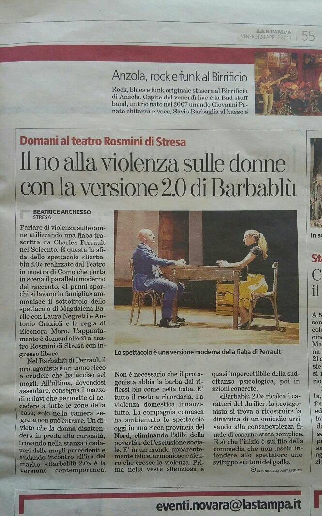 La Stampa - 28 aprile 2017