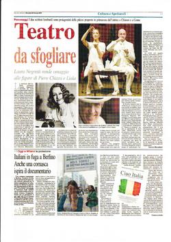 Corriere di Como 30 Gennaio 2013