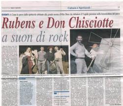 Corriere di Como 3 Aprile 2010