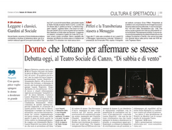 Corriere Como - 20 Ottobre 2018 - CUT