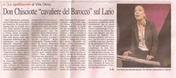 Corriere di Como 12 Marzo 2010
