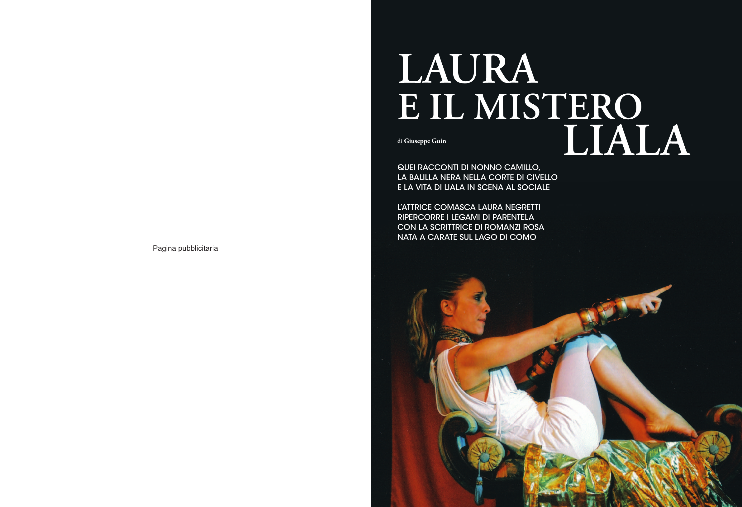 MAG Luglio 2012  Laura e il mistero Liala
