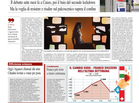 Corriere della Sera - 18 Aprile 2021 XXX