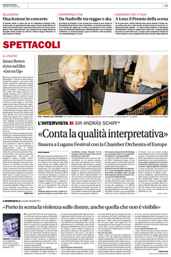 Corriere del Ticino - 10 Aprile 2015