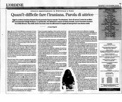 L'Ordine 7 Novembre 2008