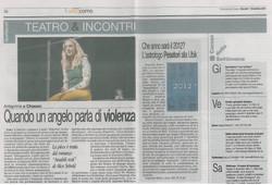 Corriere di Como 1 Dicembre 2011