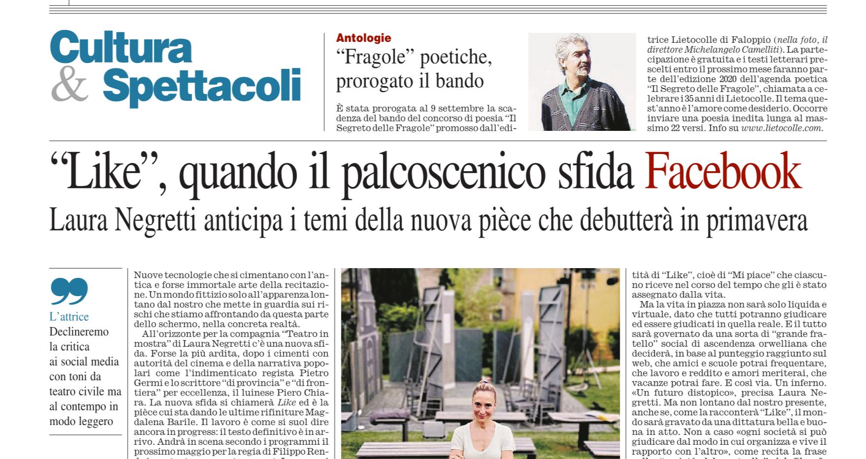 Corriere della Sera - 18 Agosto 2019 XXX